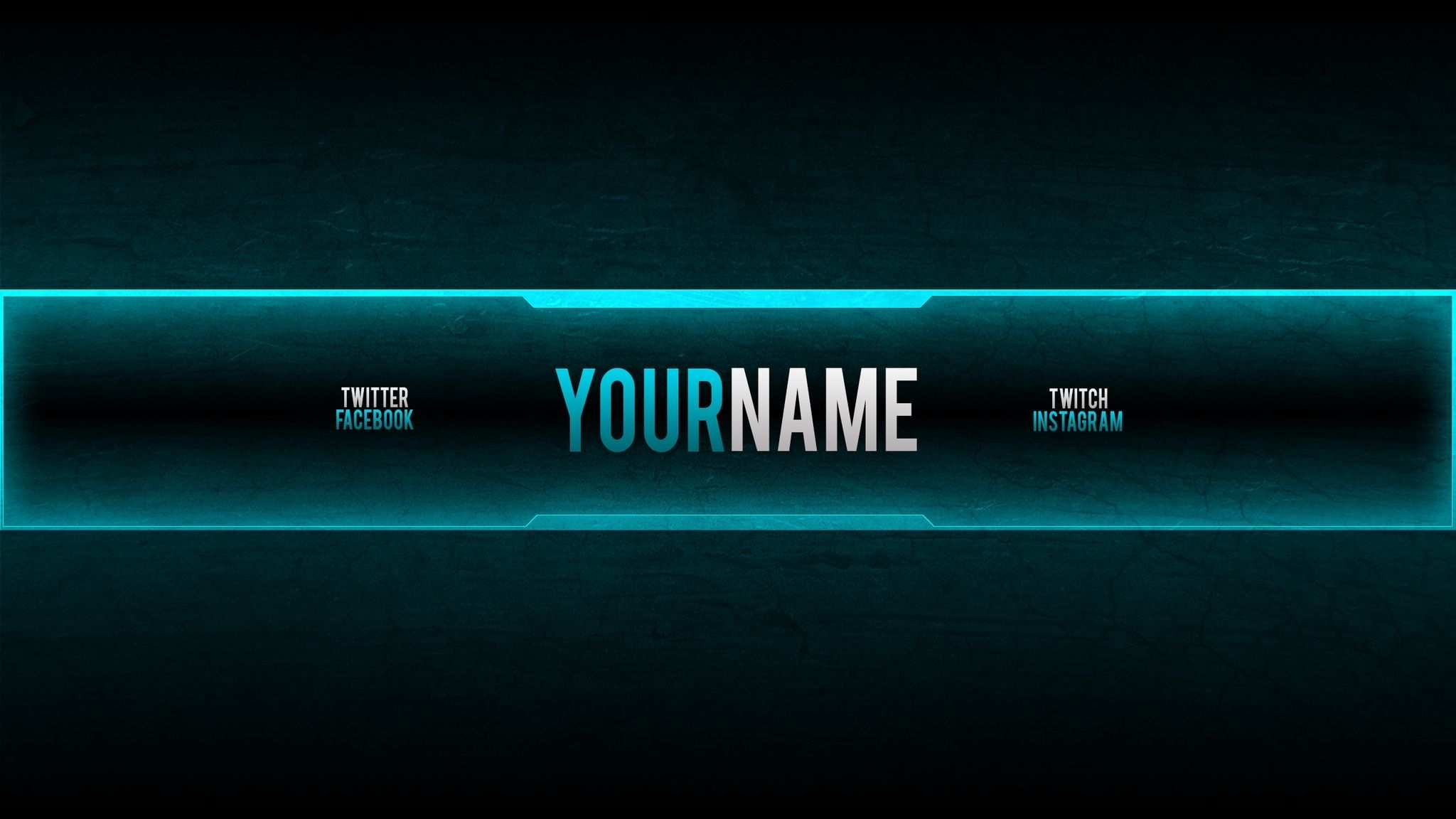 Gaming Banner Creator For Youtube Youtube Gaming Banner Template