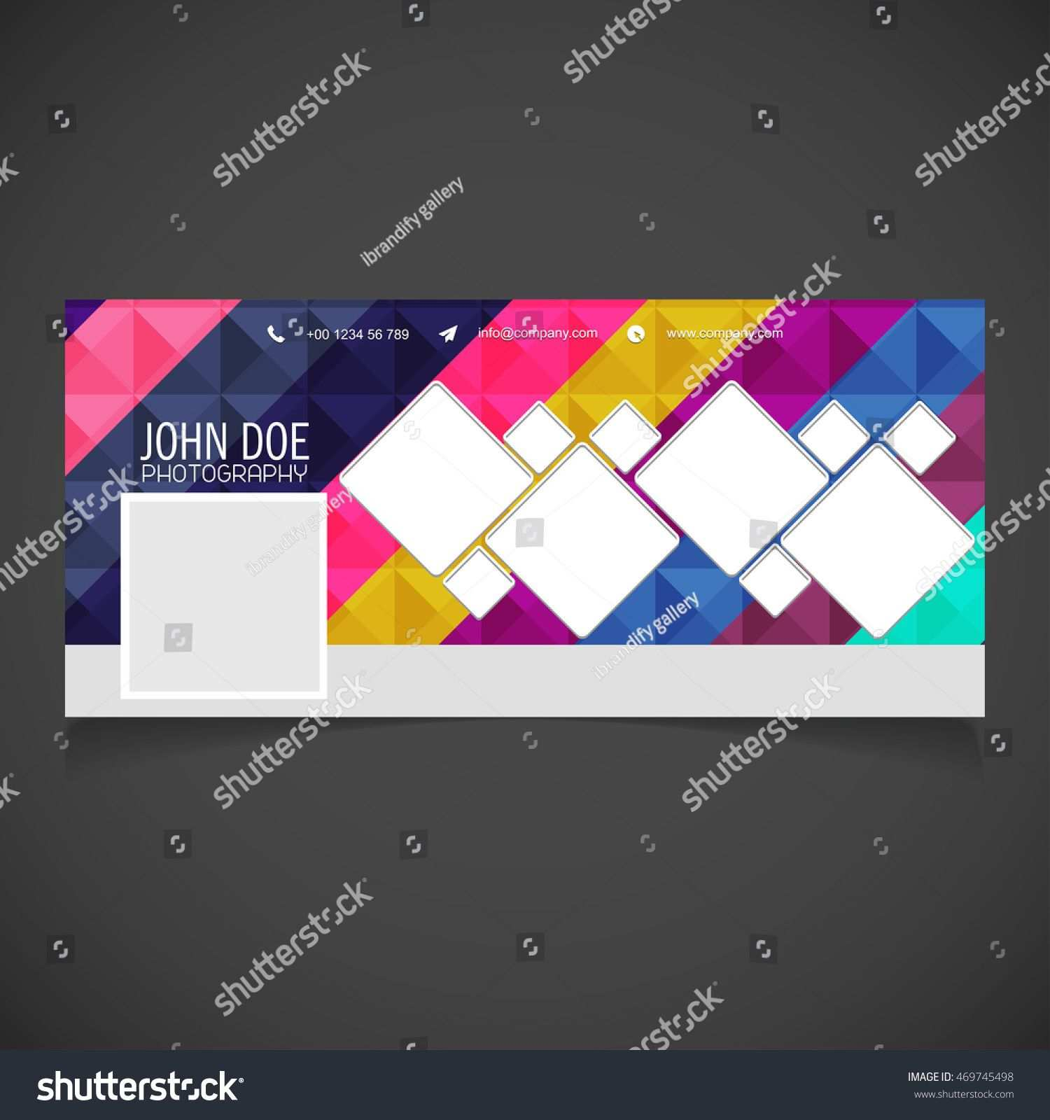 Creative Photography Banner Template Place Image Regarding
