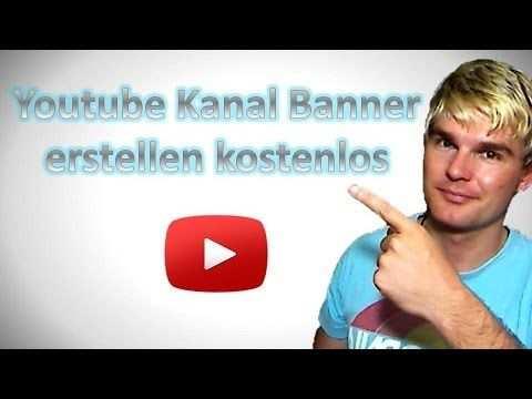 Youtube Kanal Banner Selbst Erstellen Mit Canva Kostenlos
