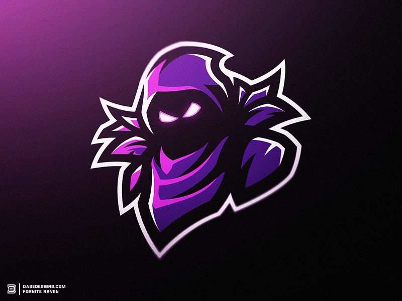 Fortnite Raven Mascot Logo Corvos Desenho Logotipo De Arte