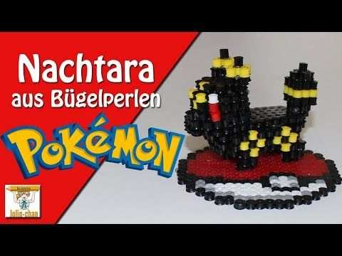 Diy Nachtara Pokemon Umbreon 3d Bugelperlen Tutorial Perler Bead Youtube Bugelperlen Pokemon Perlen Bugelperlen Pokemon