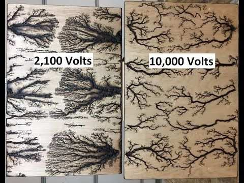 Lichtenberg Fractal Burning Art Endlich Fertig Twilight Mist Youtube Art Burning Endlich Fertig Holz Gravieren Kunst Holz Gravieren Vorlagen Fraktale