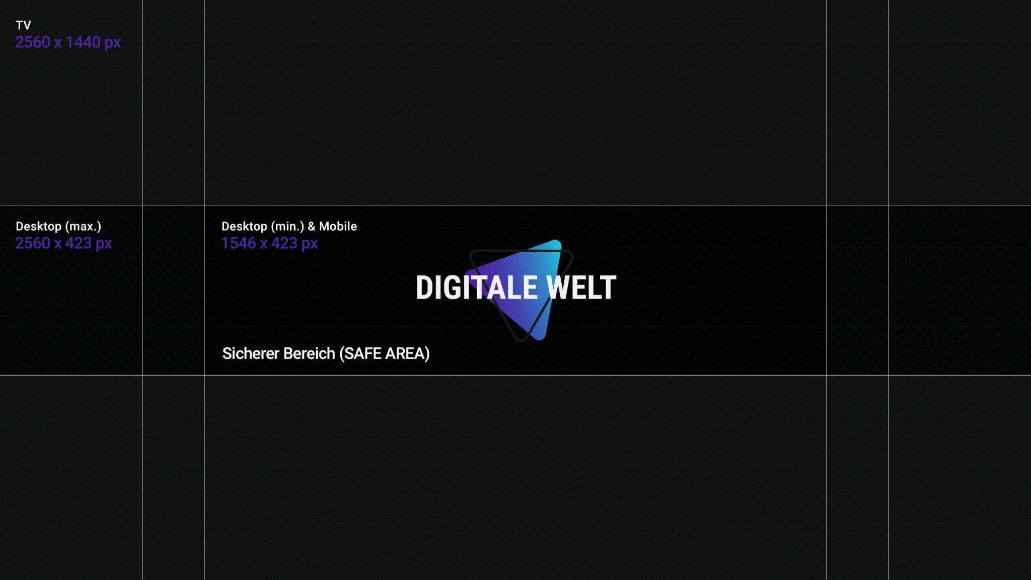 Youtube Kanalbild Template 2018 Digitalewelt Youtube Kanalbild