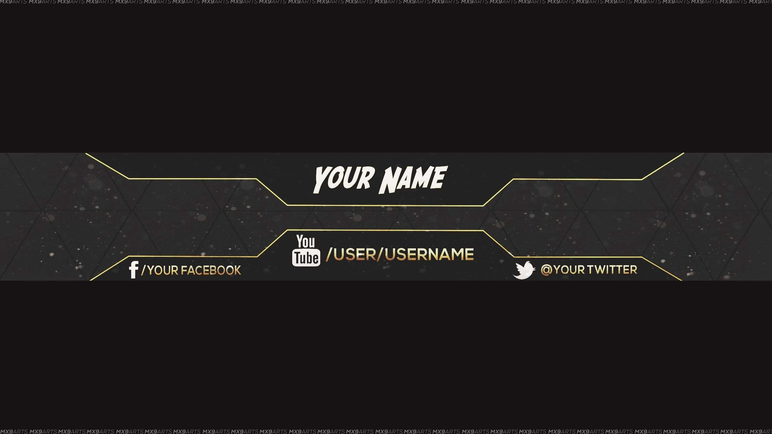 Res 2560x1440 Reupload Free Amazing Youtube Channel Banner