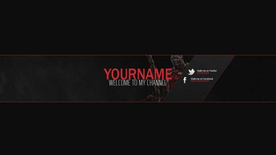 Youtube Banner Template Psd Https Nationalgriefawarenessday Com