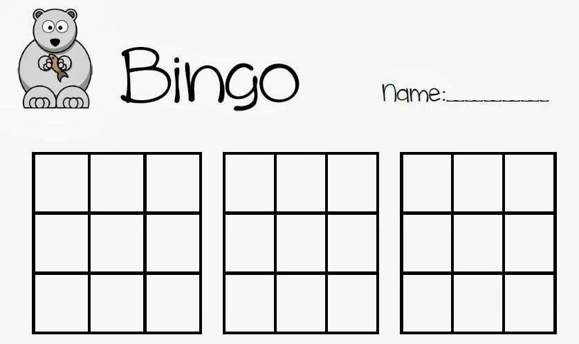 Bingo Bingo Vorlage Bingo Bingo Spiele