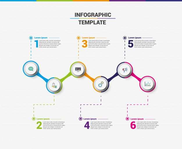 Business Infographic Template Elements