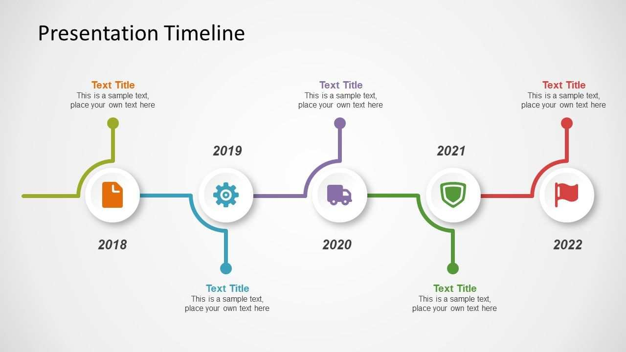 Presentation Timeline Concept For Powerpoint Timeline
