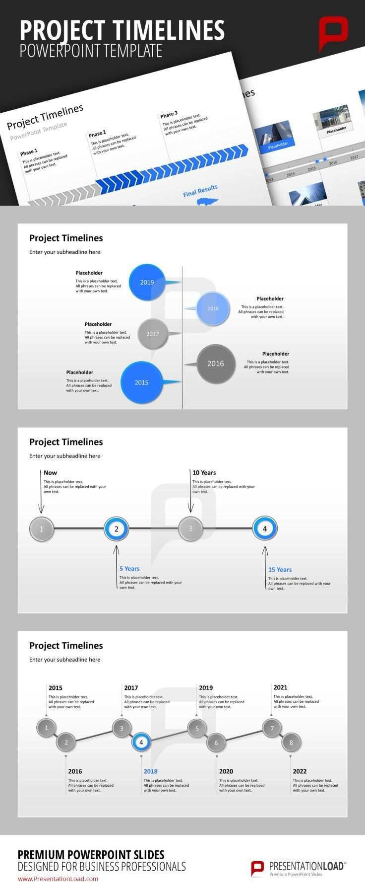 Powerpoint Zeitstrahl Zeitstrahl Powerpoint Prasentation Und Projektmanagement
