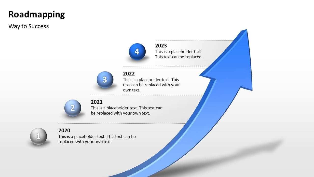 Kostenlose Roadmapping Vorlage 3d Pfeil Als Zeitstrahl Fur Powerpoint Prasentationen Way To S Powerpoint Vorlagen Kostenlos Powerpoint Vorlagen Power Point
