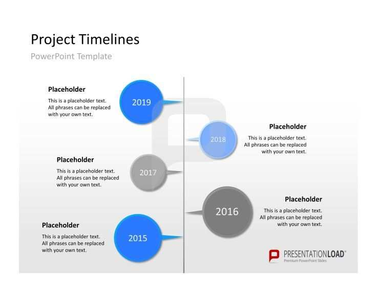 Powerpoint Zeitstrahl Als Vorlage Http Www Presentationload De Powerpoint Charts Diagramme Timelines Gantt Cha With Images Project Timeline Template Powerpoint Templates