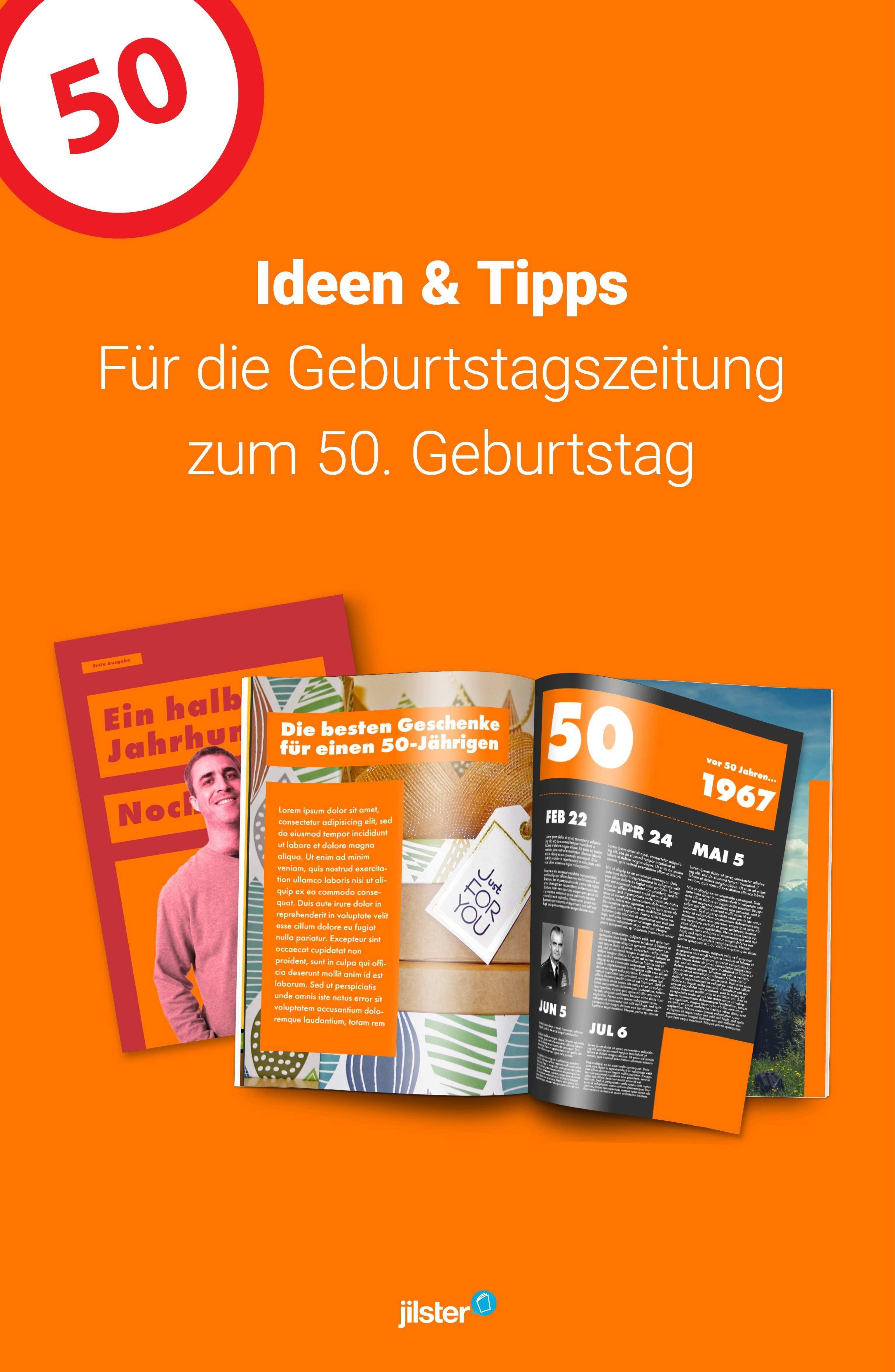 Eine Zeitschrift Zum 50 Geburtstag Selbst Gestalten