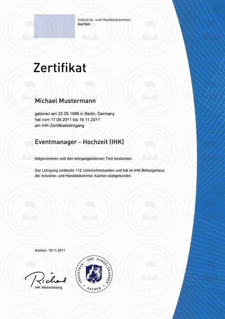 Fortbildungszertifikat Kaufen Language Teacher Institute