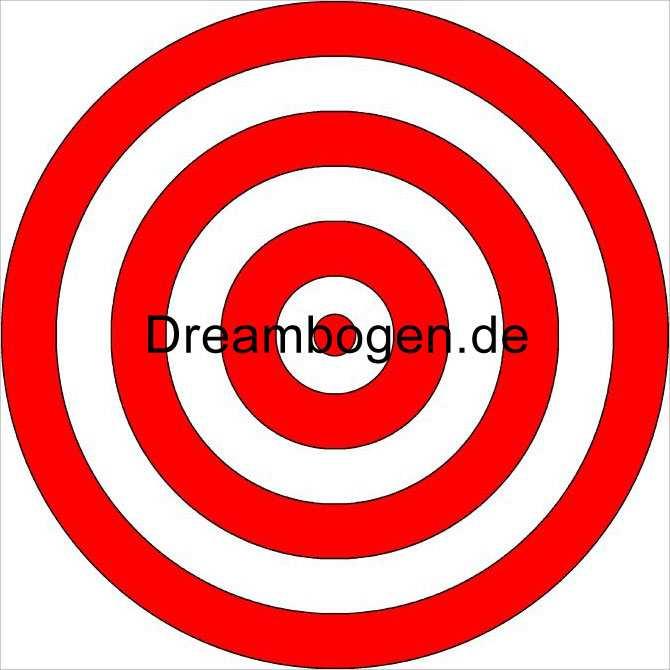 Zielscheibe Pdf Zum Ausdrucken Dreambogen De