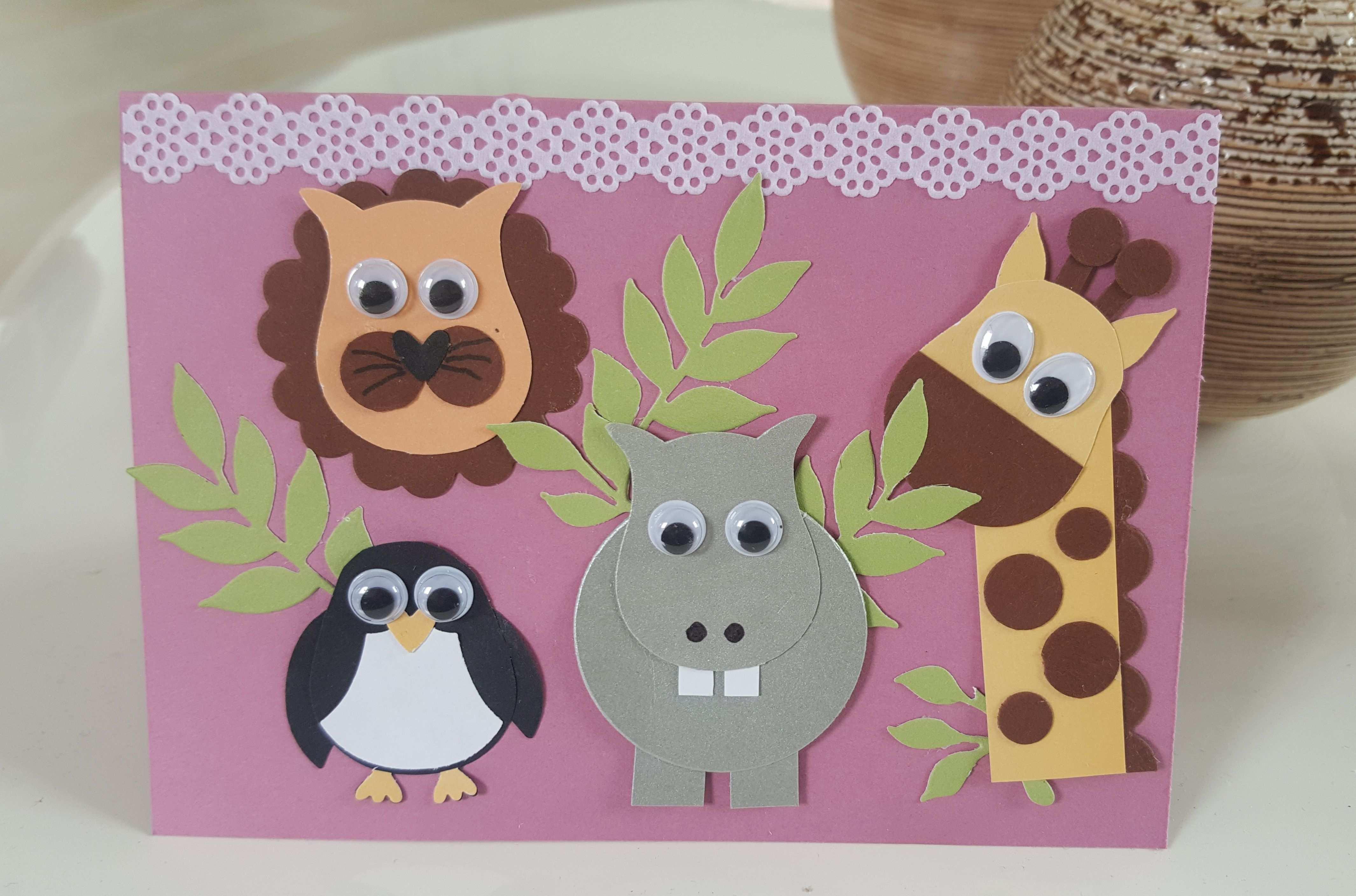 Gutschein Fur Ein Zoobesuch Gutschein Basteln Geburtstag