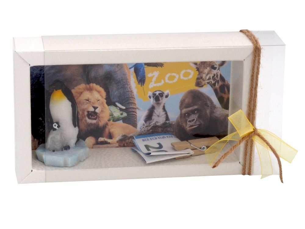 Geldgeschenk Verpackung Zoobesuch Kindergeburtstag Geschenk In